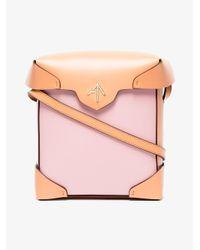 MANU Atelier Pink Pristine Mini Shoulder Bag
