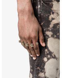 Gucci - Metallic Feline Knuckle Ring - Lyst