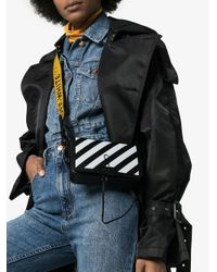 Off-White c/o Virgil Abloh Black Diag Mini Bag