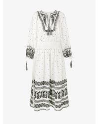 Zimmermann White Linen Dress