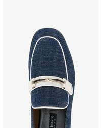 Newbark Blue Melanie Denim Loafers