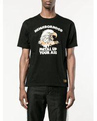 Neighborhood Black Metal Up Your Ass T-shirt for men