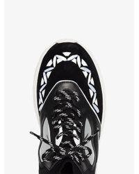 Valentino Black Heroes Reflex Sneakers for men