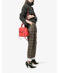 Céline Multicolor Checked Elasticated Trousers