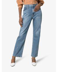 3x1 Blue Addie Loose Fit Jeans