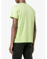 Stone Island Green Short Sleeve T-shirt for men