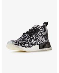 Adidas - Black Nmd R1 Primeknit Sneakers for Men - Lyst