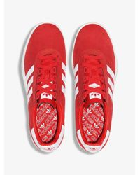 Adidas Red Trimm Trab Sneakers for men