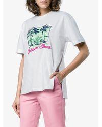 Fendi White Fendi Tshirt Short Sleeves