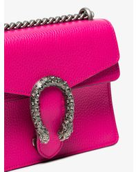 Gucci Pink Dionysus Small Leather Shoulder Bag