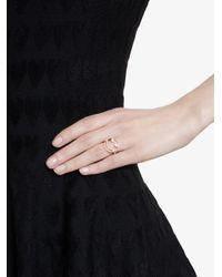 Rosa De La Cruz - Gray Diamond Smiley Ring - Lyst