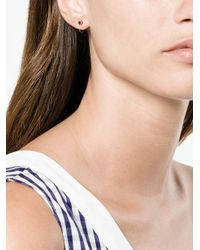 Melissa Joy Manning - Metallic Black Diamond Earrings - Lyst