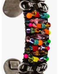 DANNIJO - Blue Beaded Feliz Bracelet - Lyst