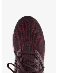 Adidas Red Burgundy Ultraboost Trainers for men