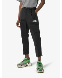 The North Face The North Face Black Series Logo Embroidered Belted Crop Track Pants for men