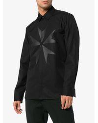 Neil Barrett - Black Star Shirt for Men - Lyst
