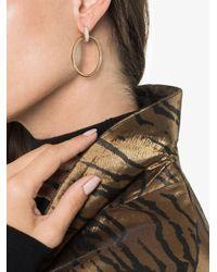 Spinelli Kilcollin - Metallic Yellow Gold Casseus huggie Diamond Hoop Earrings - Lyst