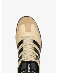 Adidas Yellow And Black Samba Sneakers for men