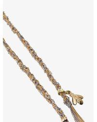 Carolina Bucci Metallic 18k Gold Lucky Virtue Charm Bracelet