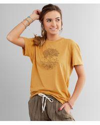 Tentree Yellow Mangrove T-shirt