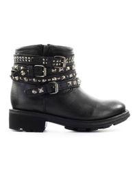 Ash Ankle Boots Black Tatumo