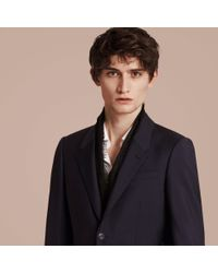 Burberry - Blue The Chelsea – Slim Fit Wool Mohair Suit True Navy for Men - Lyst