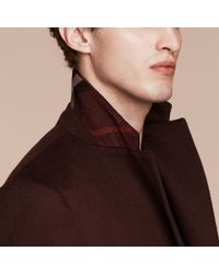 Burberry Multicolor Cashmere Overcoat for men