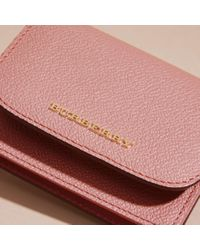 Burberry Grainy Leather Card Case Dusty Pink