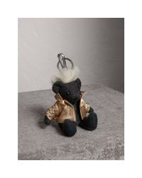 Burberry | Multicolor The Punk Thomas Bear Charm | Lyst
