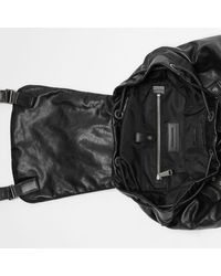 Burberry The Extra Large Rucksack aus Nappaleder in Black für Herren