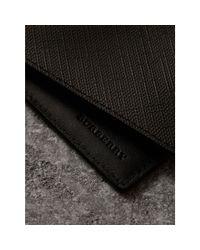 Burberry - Brown London Check International Bifold Wallet Chocolate/black for Men - Lyst