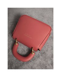 Burberry - The Mini Dk88 Top Handle Bag In Blossom Pink   - Lyst