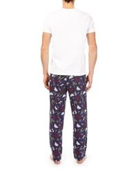 Burton Black Star Wars Pyjamas for men