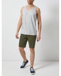 Burton Multicolor Ecru Injection Vest for men