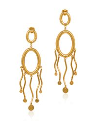 Paula Mendoza | Metallic Agon Ii Earrings | Lyst