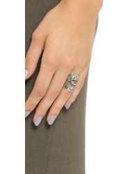 Pascale Monvoisin | Metallic Sweet Jane Ring - Silver | Lyst