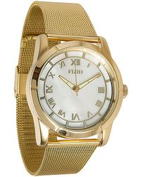 Flud Watches Metallic The Moment Watch for men