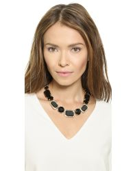 kate spade new york - Jackpot Jewels Necklace - Black - Lyst