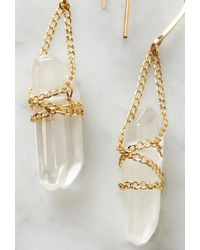Forever 21 | Multicolor By Boe Wrapped Quartz Earrings | Lyst