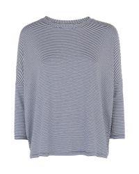Hobbs | Blue Emma T-shirt | Lyst