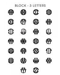 BaubleBar | Metallic Diamond Block Monogram | Lyst