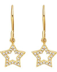 Astley Clarke | Metallic Super Star 14ct Yellow-gold And Diamond Earrings | Lyst