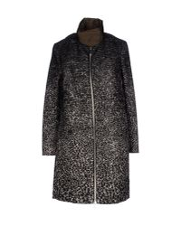 Moncler Gamme Rouge - Black Down Jacket - Lyst