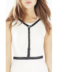 BCBGMAXAZRIA | Black Braided Harness | Lyst