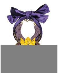 Beavaldes | Purple Necklace | Lyst