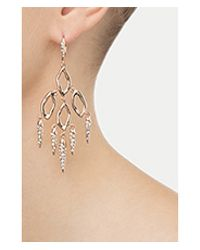 Alexis Bittar | Pink Dangling Spike Earrings - Gold | Lyst
