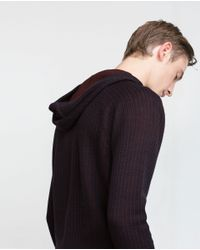 Zara | Blue Structured Sweater for Men | Lyst