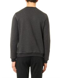 J.W.Anderson Gray Logo-Embroidered Sweatshirt for men