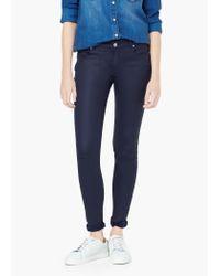 Mango | Blue Skinny Belle Jeans | Lyst