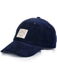 Polo Ralph Lauren Blue Corduroy Sports Cap for men
